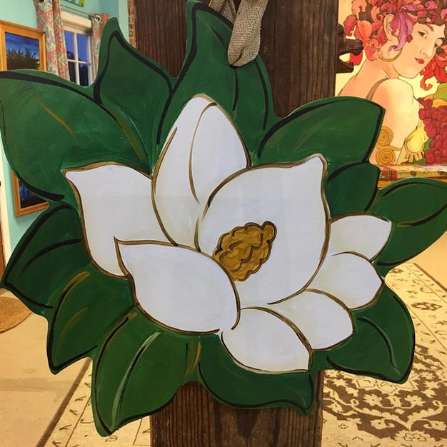 #117 Magnolia Wood Cutout
