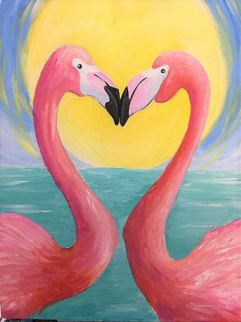 February 12, Friday, Flamingo Love, 6:30-8:30pm