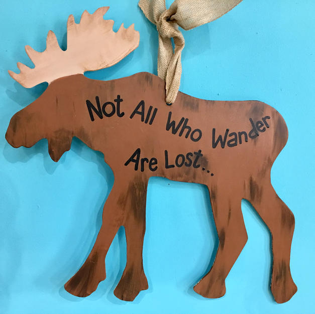 #84 Moose Wood Cutout