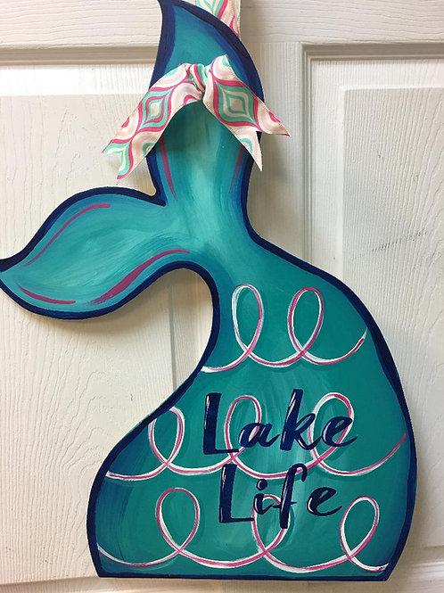 July 9, Thursday, Mermaid Tail Wood cutout, 1:00