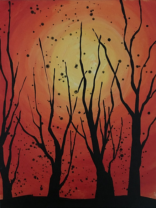 October 23, Tuesday, Creepy Trees, 6:30