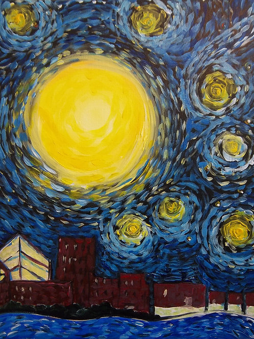 October 26, Monday, Starry Night Lexington, 6:30