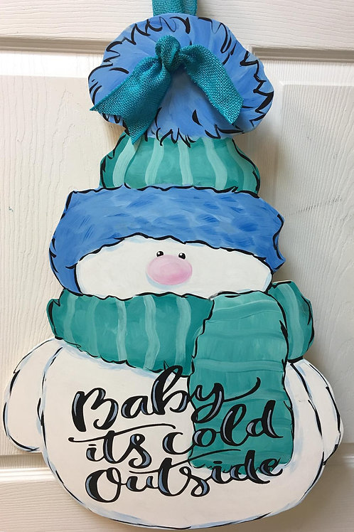 January 14, Thursday, Baby It's Cold Outside WoodCutout, 6:00
