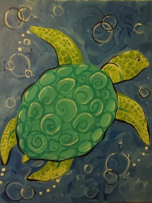 March 7, Saturday, Kid's Day Sea Turtle, 2:00