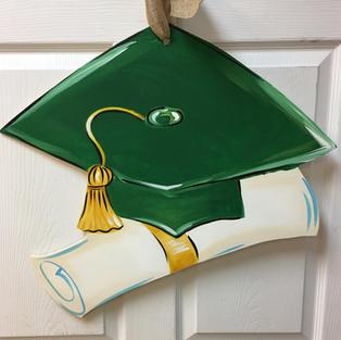 Grad Cap & Diploma #158