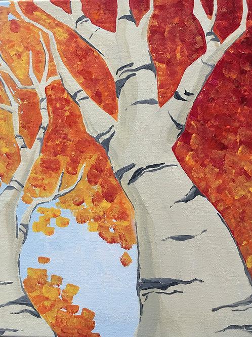September 9, Wednesday, Red Birch Tree, 6:30