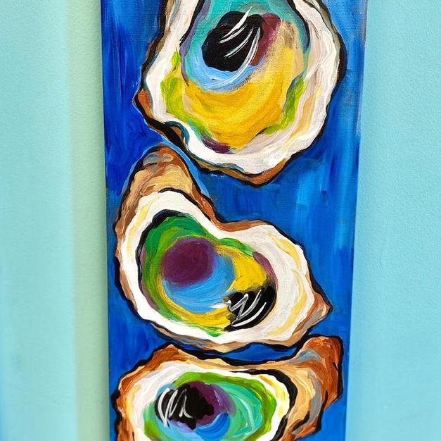 Oysters Skinny Board