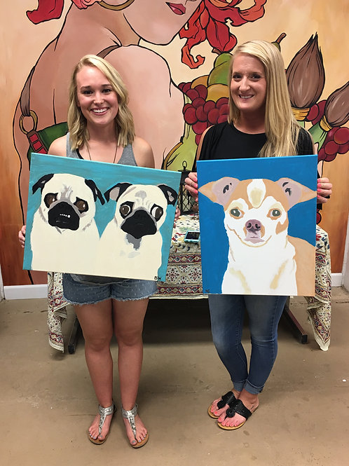 September 18, Friday, Paint Your Pet Night, 6:30