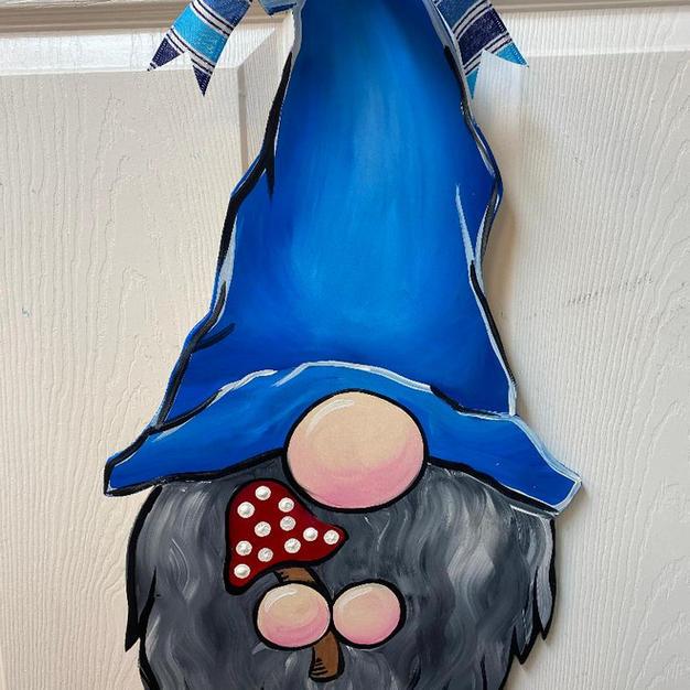 #42 Gnome Wood Cutout