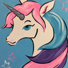 Cotton Candy Unicorn