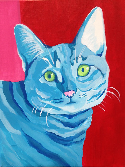 May 14, Saturday, Paint Your Pet, 5:30