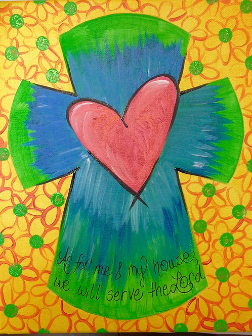 February 10, Monday, Heart Cross, 6:30