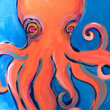 Octopus Skinny Board