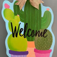 Cactus Welcome