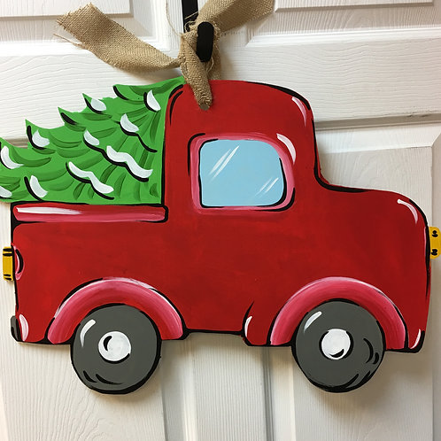November 11, Wednesday, Truck with Tree, 6:30