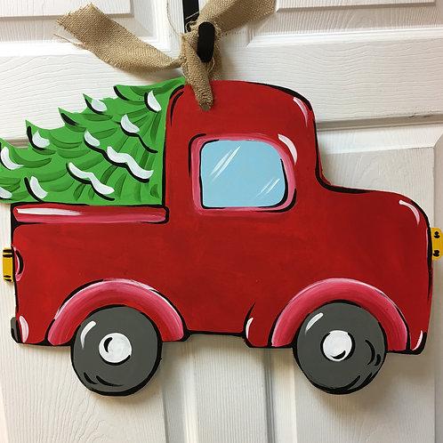 November 11, Thursday, Truck with Tree, 6:30
