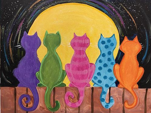 March 6, Friday, Full Moon Cats, 4:30