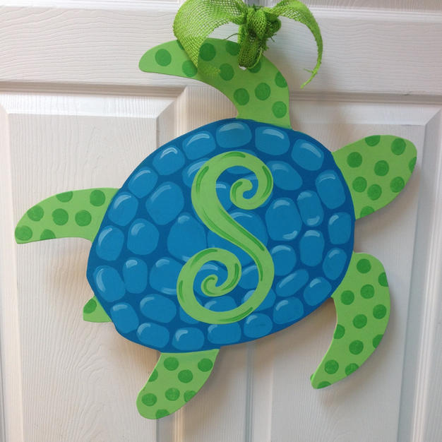 #107 Sea Turtle Wood Cutout