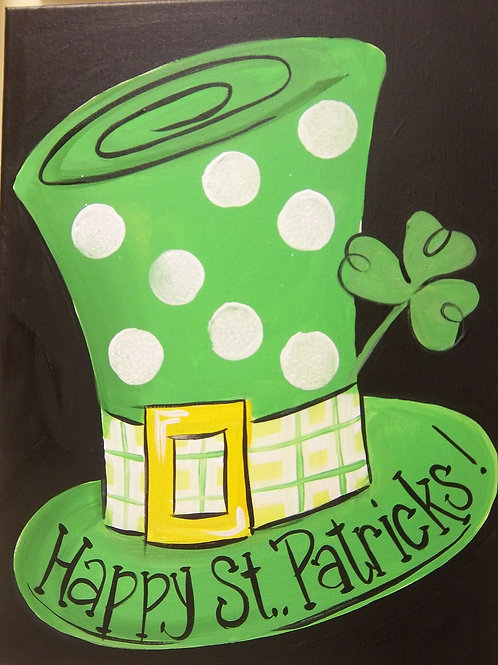 March 11, Wednesday, St. Pat's Hat! 6:30