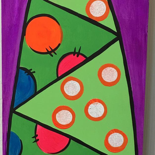 Funky Tree Skinny Board