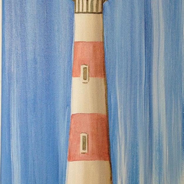 Folly Lighthouse Skinny Board