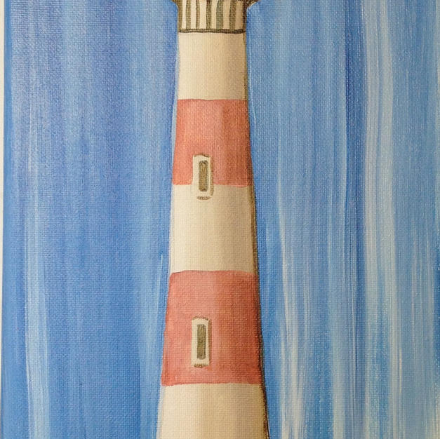 Folly Lighthouse Skinny Board