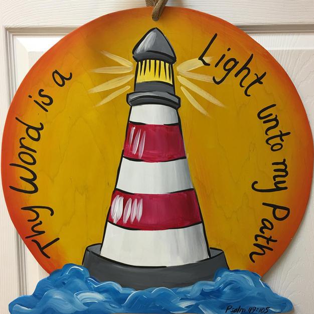 Lighthouse with Sun #152