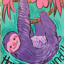 Purple Sloth