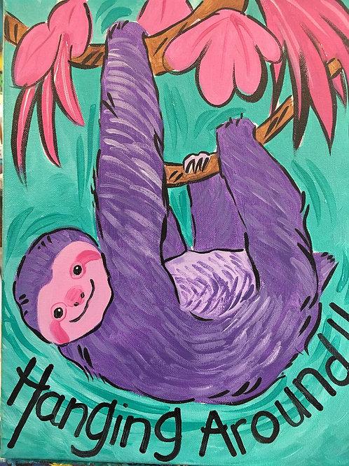 February 1, Saturday, Hanging Around Sloth, 3:30