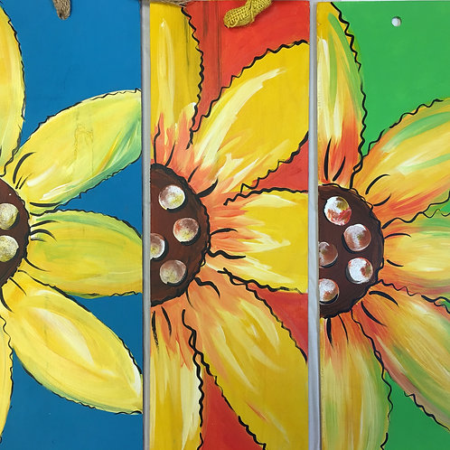 Choice of 1 Sunflower Panel