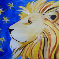 Lion Canvas