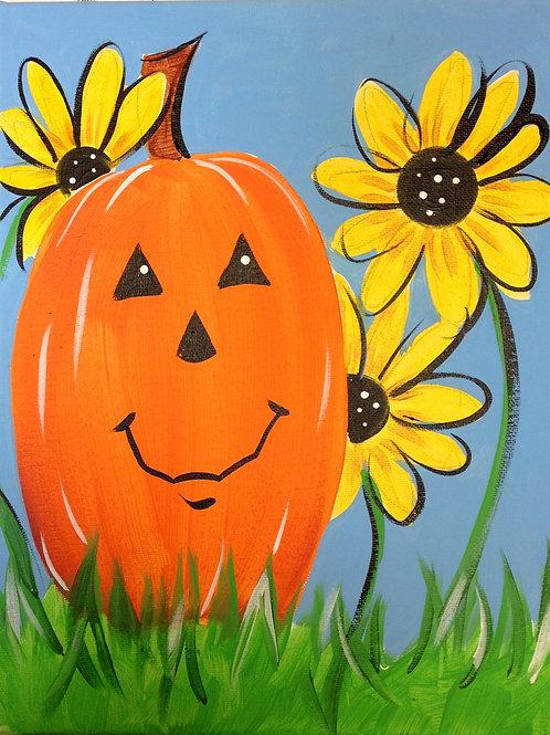 October 19, Saturday, Daisy Pumpkin, 2:00