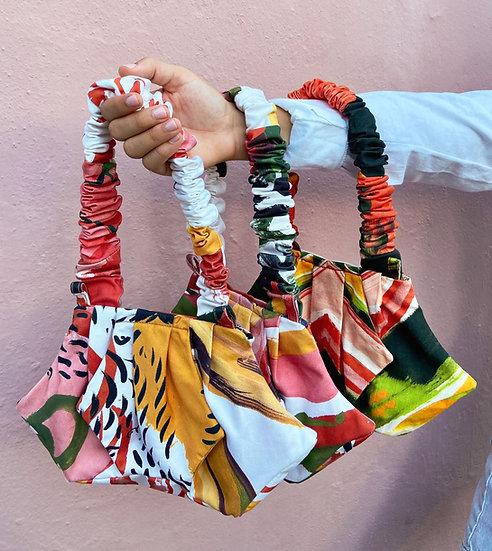 Mini Cotton Shoulder Bag