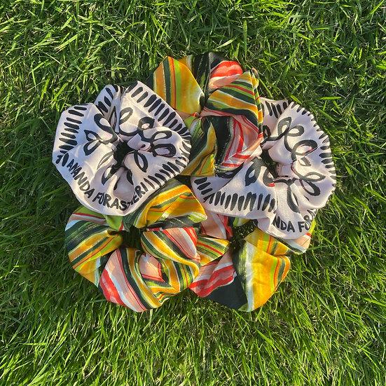Printed Super Scrunchie