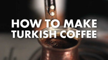 10 Steps to make perfect Turkish Coffee