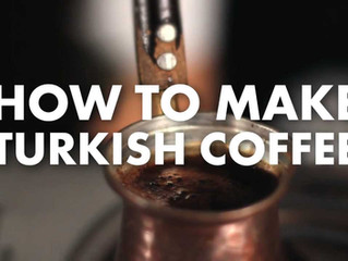 10 Steps to make perfect Turkish Coffee