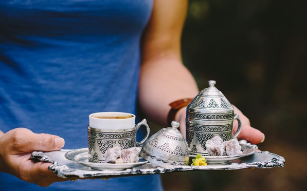 Young Woman Serving Turkish Coffee.jpg
