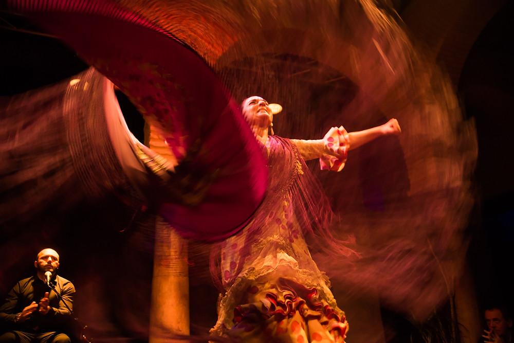 Espetáculo de Flamenco no Museu do Flamenco, Sevilha