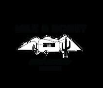 Milk and Honey Logo Negative Space B&W.p