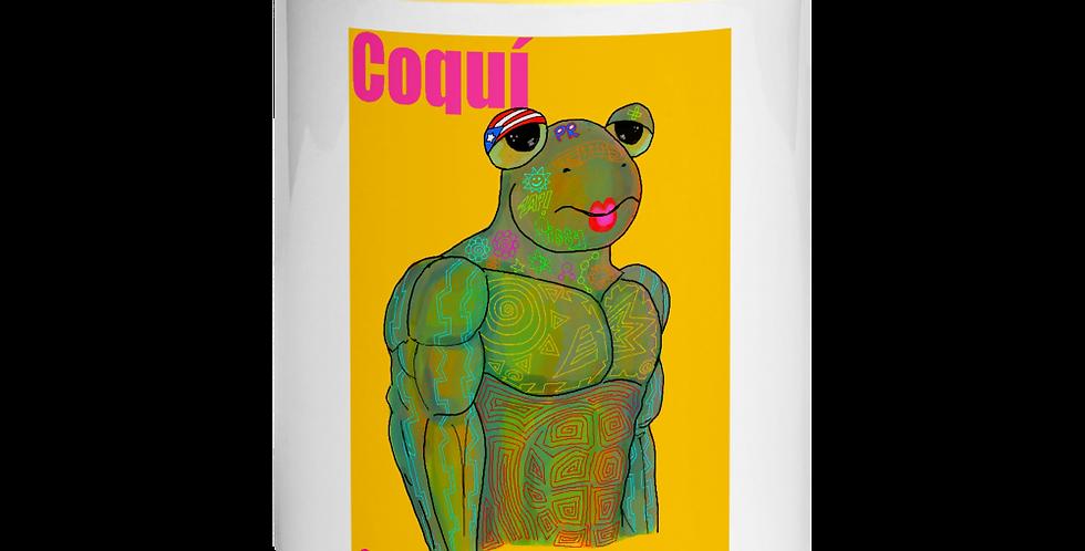 Coquí Mug with Color Inside