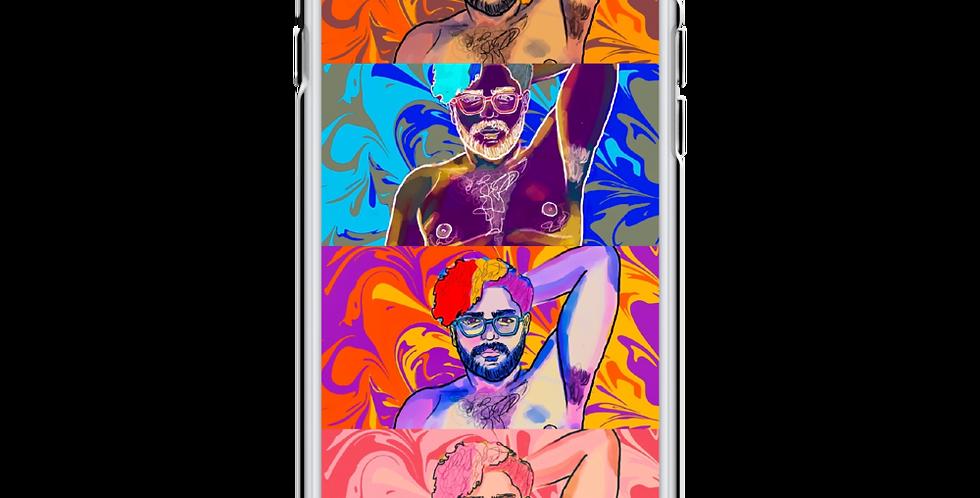 Risqué Four iPhone Case