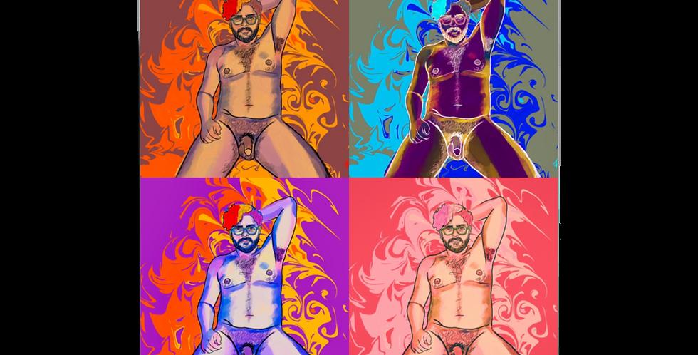Risqué Four Poster