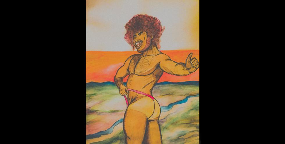 Summer Buns Poster