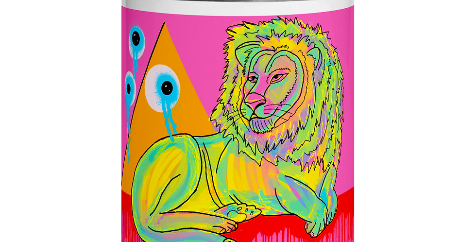 Lion Mug with Color Inside