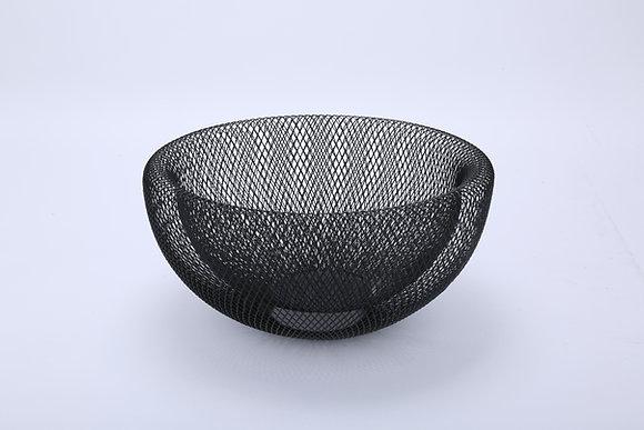 Mesh Fruit Basket (Shiny Black)