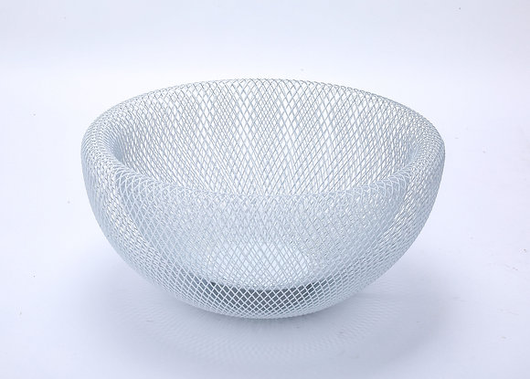 Mesh Fruit Basket (Shiny White)