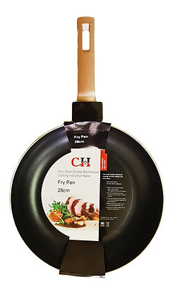 28cm Rosegold Non-Stick Fry Pan