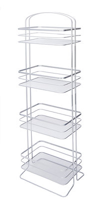 4 Tier Storage Caddy(Shinny Grey)