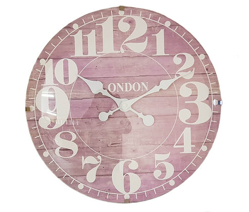 16 inch Dome-Shaped Glass Front London Wall Clock