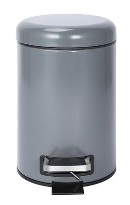 3Ltr Grey & Cream Pedal Bins